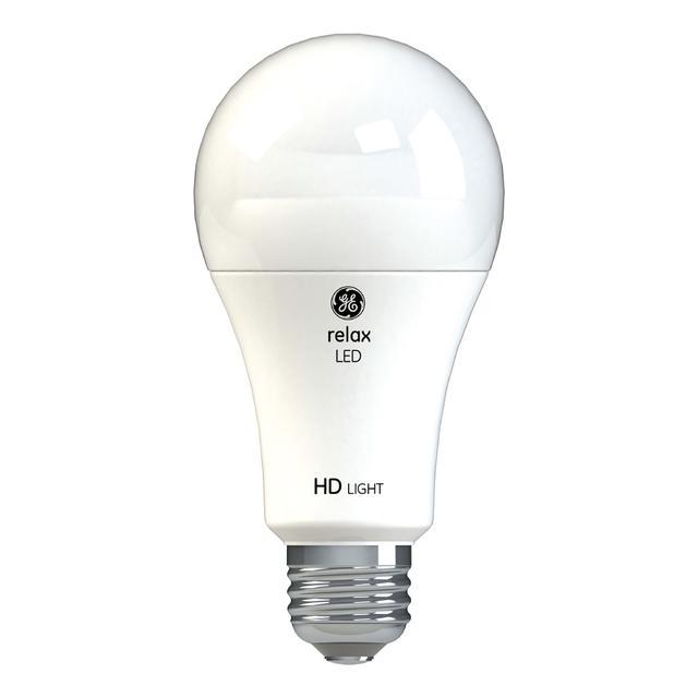 Image du produit de GE Relax HD Soft White 75W Ampoules LED de remplacement à usage général A21 (2-Pack)