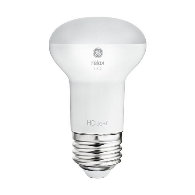 Image du produit de GE Relax HD Soft White 45W Projecteur intérieur LED de remplacement R16 Ampoules de lumière (2-Pack)